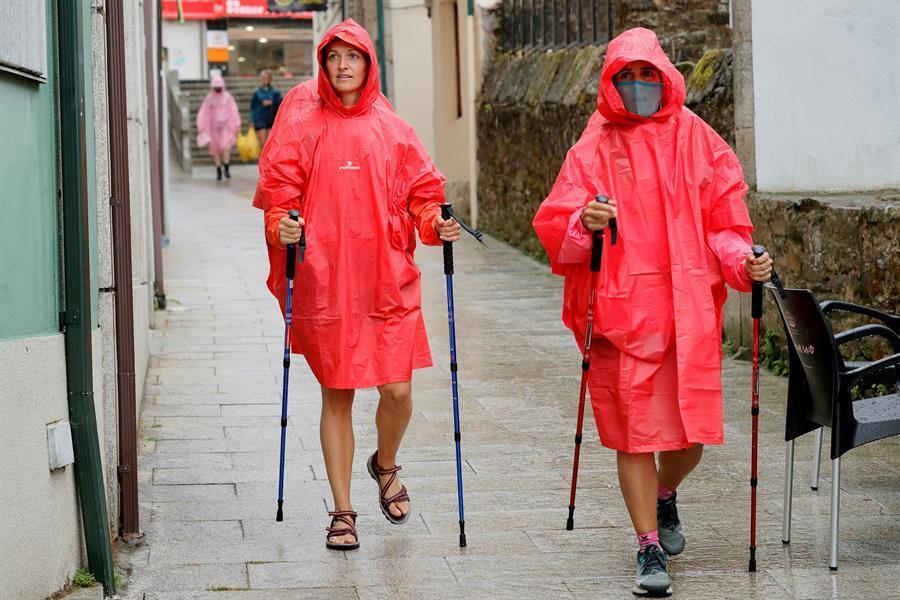 Las lluvias afectarán hoy a la mitad norte y las temperaturas suben en el tercio suroeste
