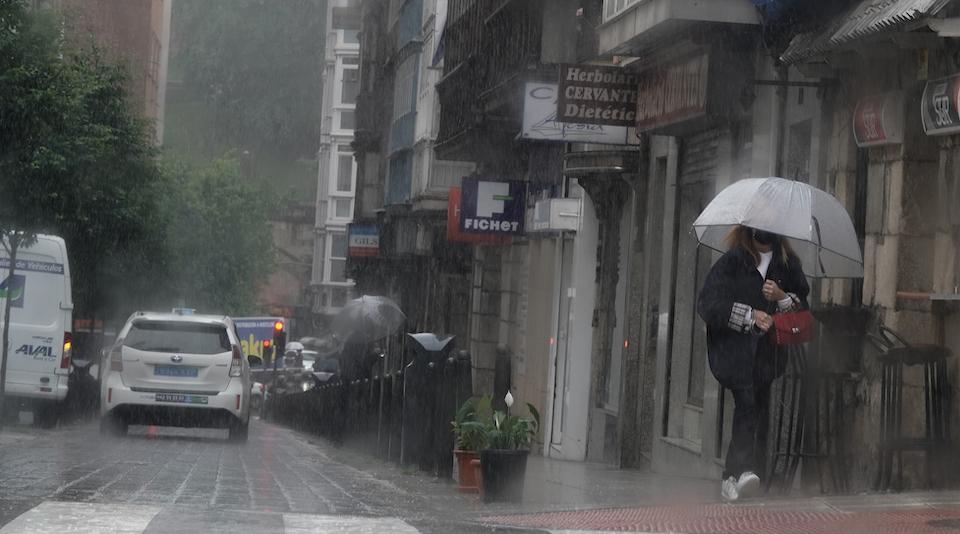 Lluvias, chubascos y más lluvia