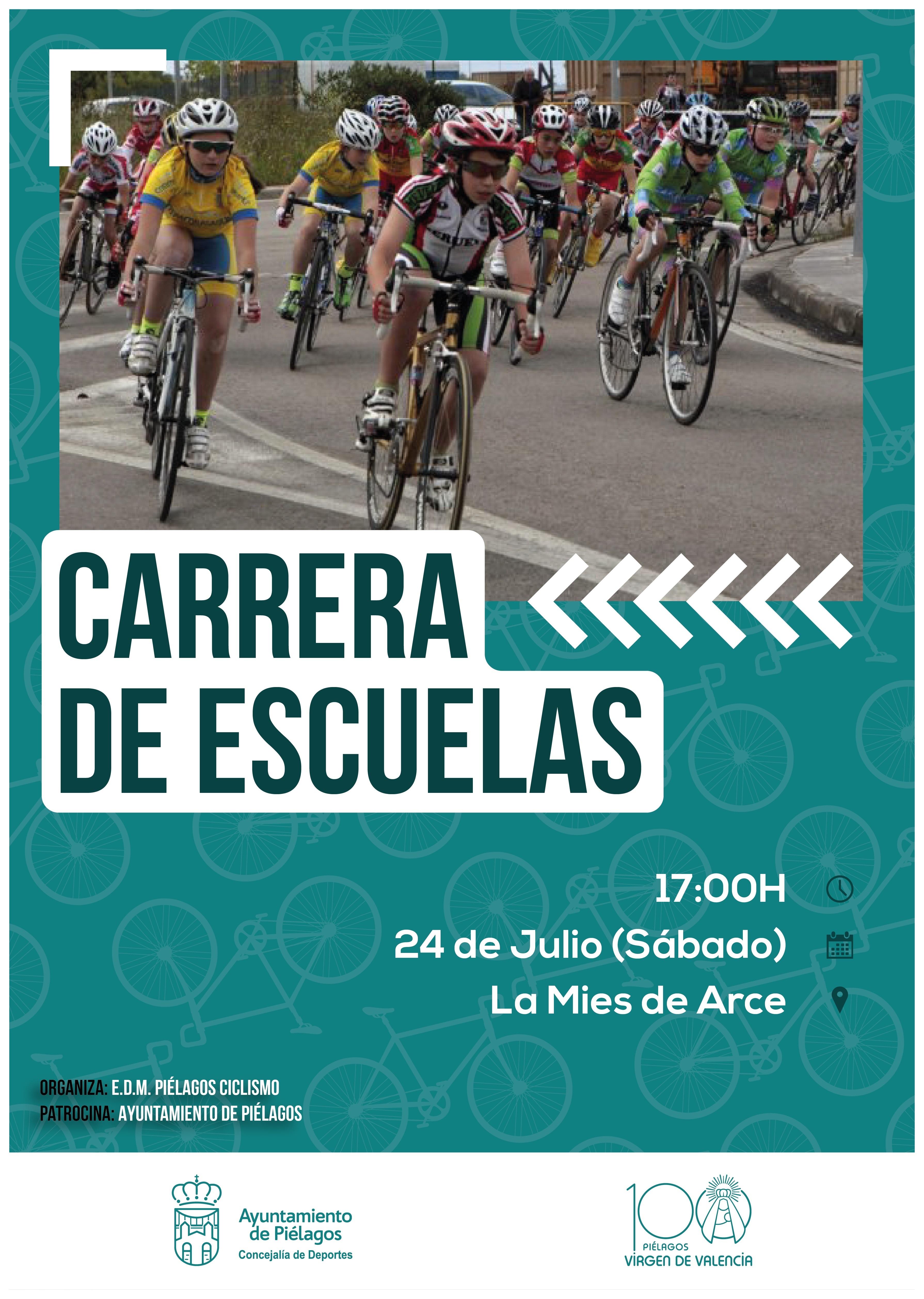 Piélagos será la sede este sábado de una carrera de escuelas de ciclismo de Cantabria