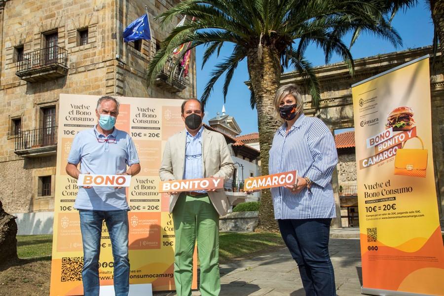 Camargo lanzará 20.000 bonos para incentivar el consumo local